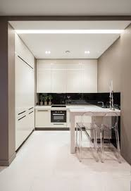Kitchen  Sweet Small Kitchen Decor Ideas With Minimalist White - White modern kitchen