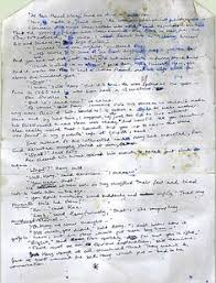 j k rowling s hand written outline for harry potter book is ldquovery early page of philosopher s stone written around 1991 and showing plot line that was abandoned would have changed everything rowling i like the real