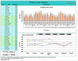 sales activity report excel 8 weekly sales activity report examples pdf excel examples
