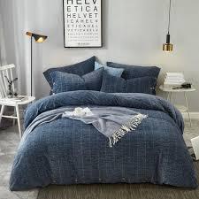 cotton fleece sleep warmth bedding set