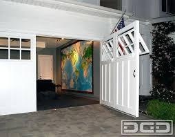 swinging garage door swing garage
