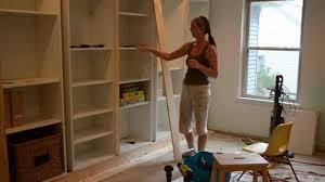 smart girls diy turning ikea shelves into built ins part 2 you