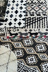 moroccan pattern rug navy