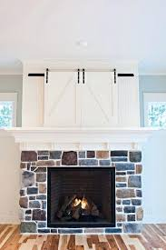 above fireplace tv cabinet hide a above mantel electric fireplace mantel tv stand