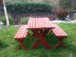 redwood picnic table classic redwood picnic table set gold hill redwood in redwood picnic tables round redwood picnic table plans