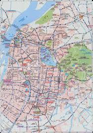 nanjing china map  maps of nanjing