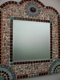 Mosaic Artists Gallery of Artistic Mosaic Mirrors Pool Borders
