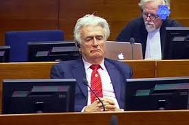 Image result for radovan karadzic u hag 2013 fotos