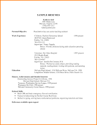 Child Care Resume Examples - Sarahepps.com -