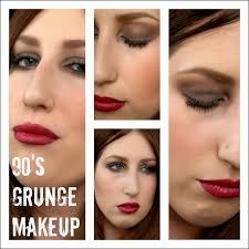 on trend modern take 90 s grunge makeup tutorial