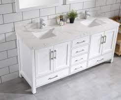 Palmera 65 White Double Sink Bathroom Vanity Royal Bath Place