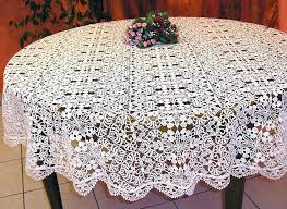 round tablecloths image of silver