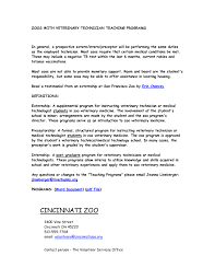 vet cover letters vet tech cover letters enjoyable design ideas vet tech cover letter