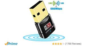 Amazon.com: USB WiFi Adapter 600Mbps USBNOVEL Dual Band 2.4G / 5G ...