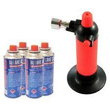 photos of kitchen blowtorch gas refill