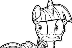 Small Picture Princess Twilight Sparkle Coloring Pages Wecoloringpage