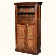 rustic storage cabinets. Rustic Wood Tall Storage Cabinet Entryway Bench With Cabinets