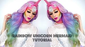 Unicorn Mermaid Mythical Creature Makeup Tutorial YouTube