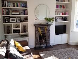 Living Room Alcove Not Keen On This Fireplace Or The Alcove Shelving Or Anything