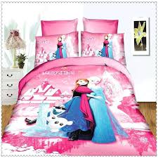 frozen bedding set frozen bedding set blue pink twin single size home textiles for kids navy frozen bedding