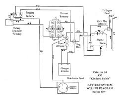 our catalina c34 upgrades wiring diagram 4 golf cart batteries