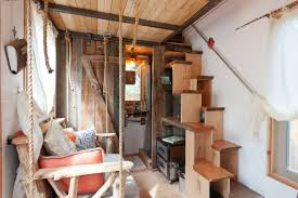 Images via Tiny House Living  Hip-East-Side-Tiny-Pad-Interior