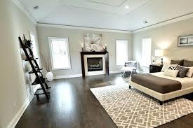 Dark Wood Floor In Bedroom New Residence Black Hardwood Floor