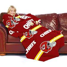 Nfl Comfy Throw Blanket Sleeves