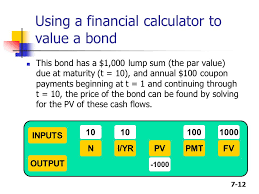7 1 Chapter 7 Bonds And Their Valuation Key Features Of Bonds Bond