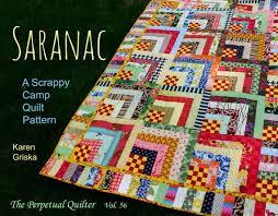 Scrap Quilt Patterns New Saranac Quilt Pattern Scrap Quilt Pattern Twin Quilt Etsy