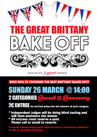 the great britanny bake off united in event navigation