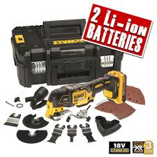 dewalt 18v tools. dewalt dcs355d2 18v xr li-ion brushless 2.0ah oscillating multi- tool tools