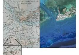 Historic 240 Year Old Nautical Map Shows Damage To Floridas