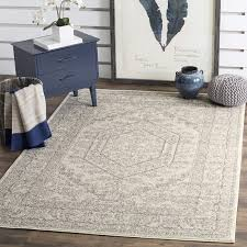 12 x 14 area rugs com safavieh adirondack collection adr108b ivory and silver