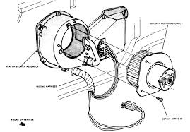 heating and air conditioning 1 exploded view of the blower motor mounting