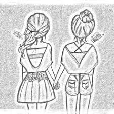 Cute Easy Best Friend Drawings Google Search Disegno