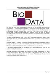 Resume Biodata Cv Magdalene Project Org