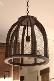 cheap rustic lighting. Chicken Wire Light Fixtures Provide Farmhouse Whimsy. This Rustic Lighting Is From Shades Of Cheap G