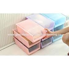shoe storage box china factory made practical plastic clear shoe storage box small outdoor shoe storage