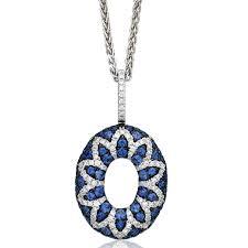 china big round circle 925 sterling silver pendants jewelry blue cz china 925 silver silver jewelry