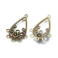 filigree chandelier earrings base sterling silver earring base chandelier earrings findings filigree silver supplies earrings components