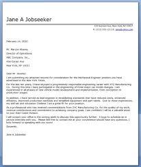 Cover Letter For Engineering Job Application Magdalene