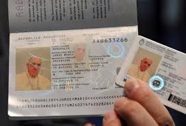 - Pope Passport Dialog Dual Argentina The Citizen Renews His Francis