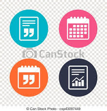 Quote Sign Beauteous Report Document Calendar Icons Quote Sign Icon Quotation Mark