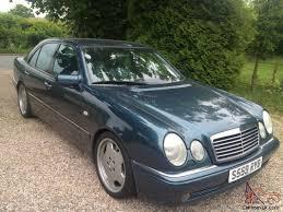 1999 MERCEDES E55 AMG DESIGNO ONLY 68,000 MILES FSH