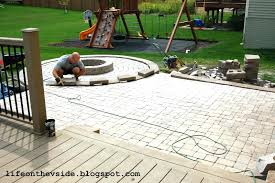 full size of how to make a stone patio deck how to make a stone patio