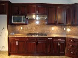 kitchen backsplash cherry cabinets black counter. Kitchen Backsplash Ideas With Cherry Cabinets Beautiful Black Counter