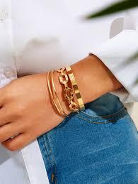 <b>Bracelets for Women</b>   Beaded & <b>Bangle Bracelets</b>   SHEIN IN