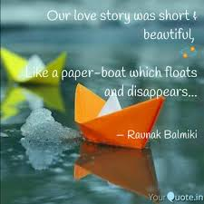 Our Love Story Was Short Quotes Writings By Raunak Balmiki