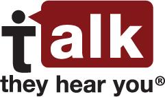 i talk they hear you logo